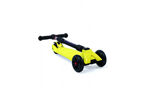 Самокат трехколесный SKL-L-02 Maxi Pro Flash Черный