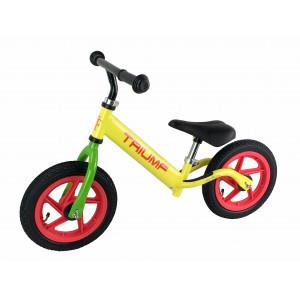 Беговел AKB-1209W желтый на надувных колеса