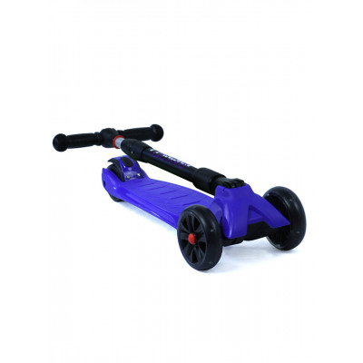 Самокат трехколесный SKL-L-02 Maxi Pro Flash Синий