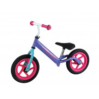 Беговел AKB-1209W фиолетовый на надувных колесах