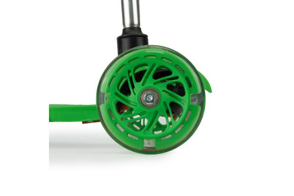 Самокат трехколесный SKL-06AH для самых маленьких Mini Up Flash Зеленый