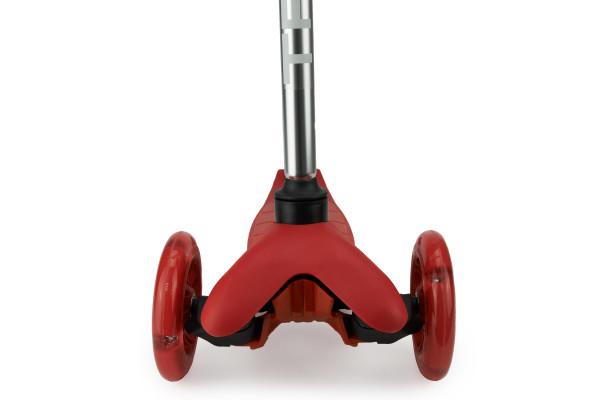 Самокат трехколесный SKL-06AH для самых маленьких Mini Up Flash Красный