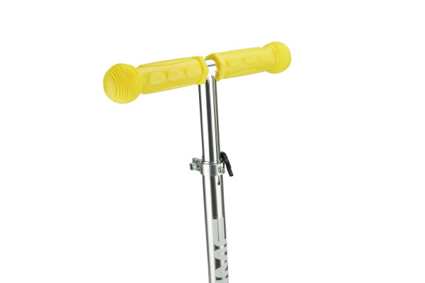 Самокат трехколесный SKL-06AH для самых маленьких Mini Up Flash Желтый
