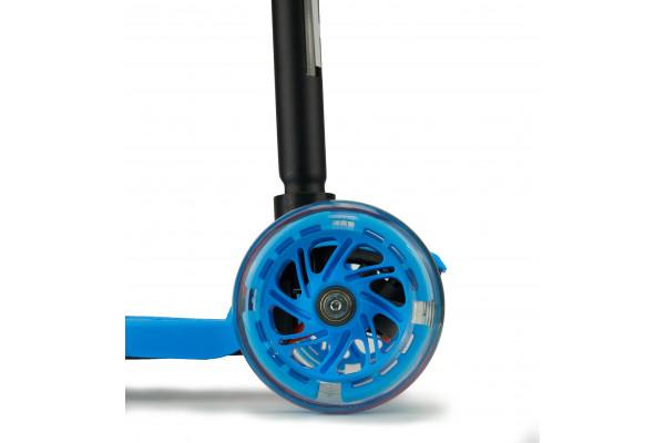 Самокат трехколесный SKL-07L Maxi Flash Синий