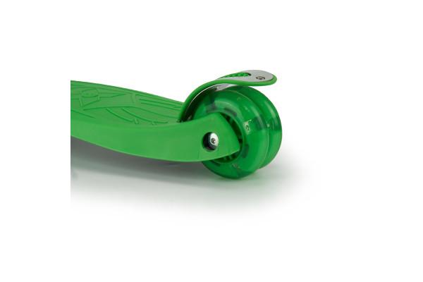 Самокат трехколесный SKL-07L Maxi Flash Зеленый
