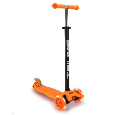 Самокат трехколесный SKL-07L Maxi Flash Оранжевый