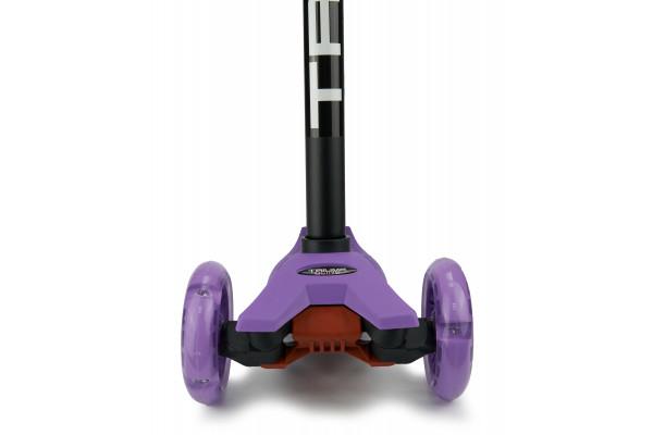 Самокат трехколесный SKL-07L Maxi Flash Фиолетовый