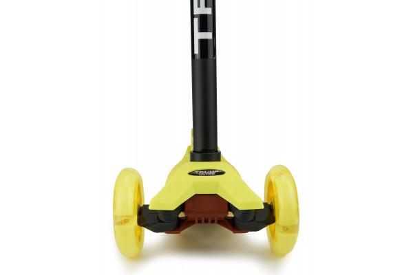 Самокат трехколесный SKL-07L Maxi Flash Желтый