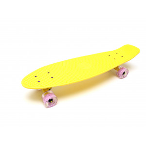 "Скейтборд 27"" TLS-402L Classic Triumf Active Milky yellow"