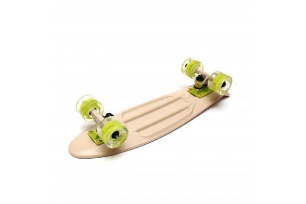 """Скейтборд 22"""" TLS-401L Classic Beige"""