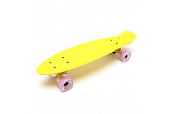 "Скейтборд 22"" TLS-401L Classic Milky Yellow"
