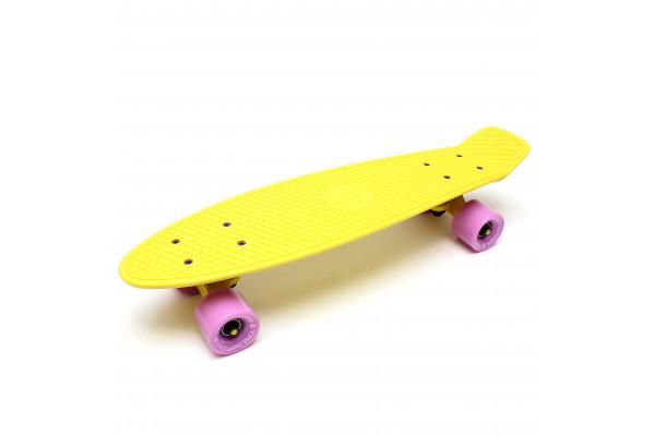 "Скейтборд 22"" TLS-401 Classic Milky Yellow"