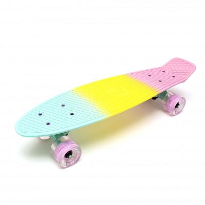 "Скейтборд 22"" TLS-401ML Multicolor Ice cream"