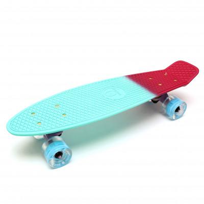 """Скейтборд 22"""" TLS-401ML Multicolor Mint"""