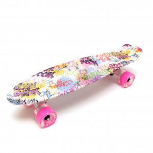 """Скейтборд 22"""" TLS-401G Led Print Sweety"""