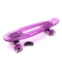 "Скейтборд 22"" TLS-403 Purple"