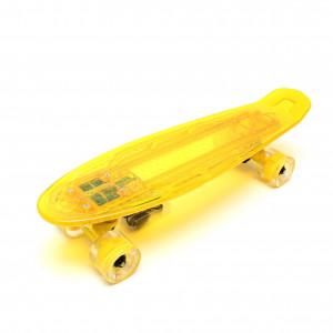"""Скейтборд 22"""" TLS-403 Yellow"""